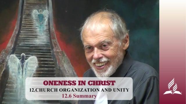 12.6 Summary – CHURCH ORGANIZATION AND UNITY   Pastor Kurt Piesslinger, M.A.
