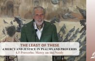 4.5 Proverbs: Mercy on the Needy – MERCY AND JUSTICE IN PSALMS AND PROVERBS | Pastor Kurt Piesslinger, M.A.