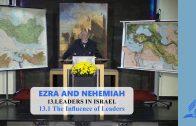 13.1 The Influence of Leaders – LEADERS IN ISRAEL | Pastor Kurt Piesslinger, M.A.