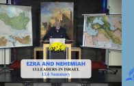 13.6 Summary – LEADERS IN ISRAEL | Pastor Kurt Piesslinger, M.A.