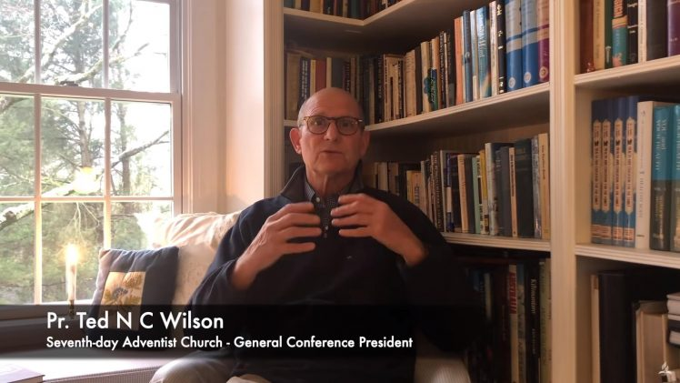 100 Days of Prayer: A Message and Prayer from Pastor Ted Wilson