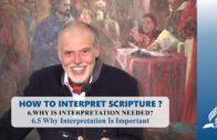 6.5 Why Interpretation Is Important – WHY IS INTERPRETATION NEEDED? | Pastor Kurt Piesslinger, M.A.