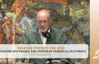 2.6 Summary – WINSOME WITNESSES-THE POWER OF PERSONAL TESTIMONY | Pastor Kurt Piesslinger, M.A.