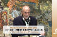 5.3 The Holy Spirit and Witnessing – SPIRIT-EMPOWERED WITNESSING | Pastor Kurt Piesslinger, M.A.
