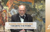 7.2 The Creative Power of God's Word – SHARING THE WORD | Pastor Kurt Piesslinger, M.A.