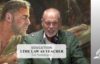 3.6 Summary – THE LAW AS TEACHER   Pastor Kurt Piesslinger, M.A.
