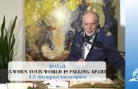3.2 Attempted Interception – WHEN YOUR WORLD IS FALLING APART | Pastor Kurt Piesslinger, M.A.