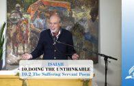 10.2 The Suffering Servant Poem – DOING THE UNTHINKABLE | Pastor Kurt Piesslinger, M.A.