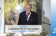 13.4 Community Of Faith – REBIRTH OF PLANET EARTH | Pastor Kurt Piesslinger, M.A.