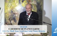 13.5 So Shall Your Seed And Your Name Remain – REBIRTH OF PLANET EARTH   Pastor Kurt Piesslinger, M.A.