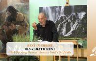 10.4 Serving Others Honors God's Sabbath – SABBATH REST   Pastor Kurt Piesslinger, M.A.