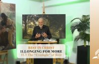 """11.3 The """"Example"""" of Rest – LONGING FOR MORE 